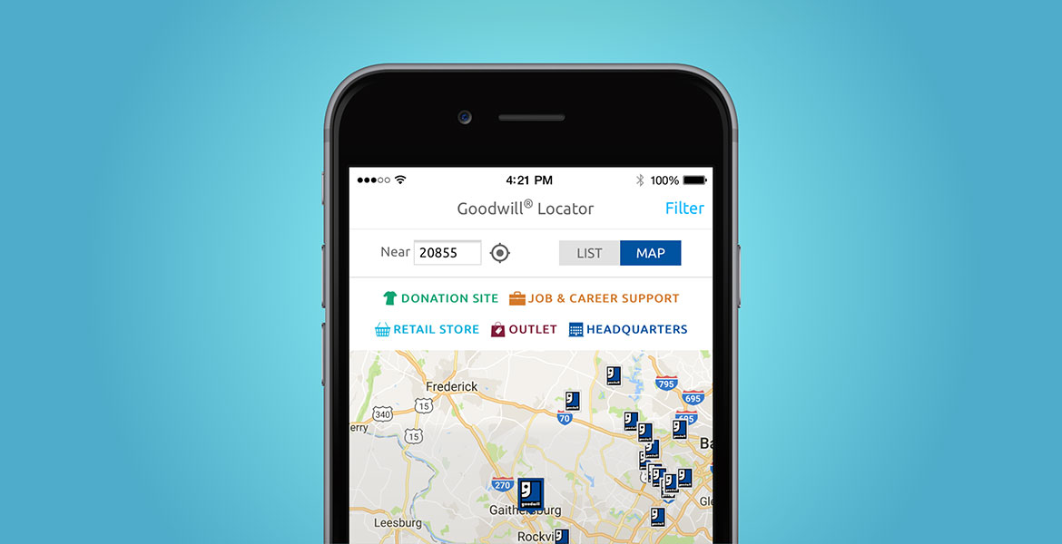 Goodwill Mobile App